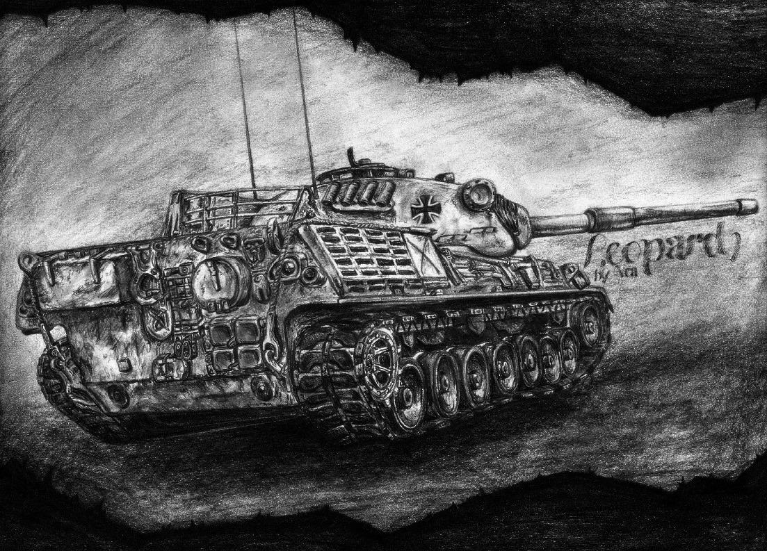 Название: leopard-tank-picture-pencil.jpg Просмотров: 2625  Размер: 426.9 Кб