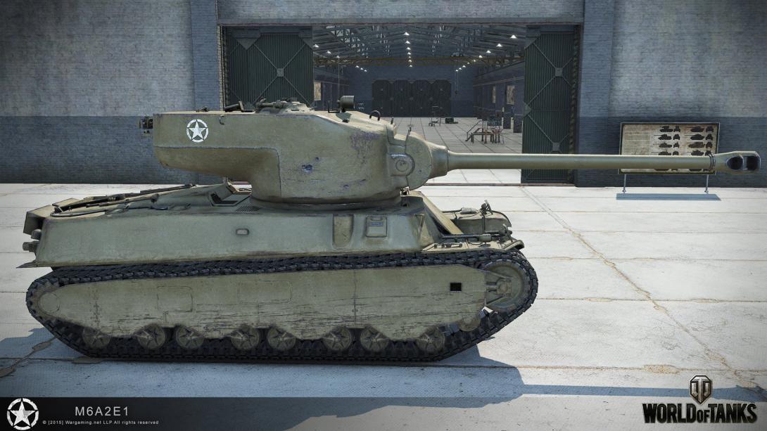 Танк M6A2E1