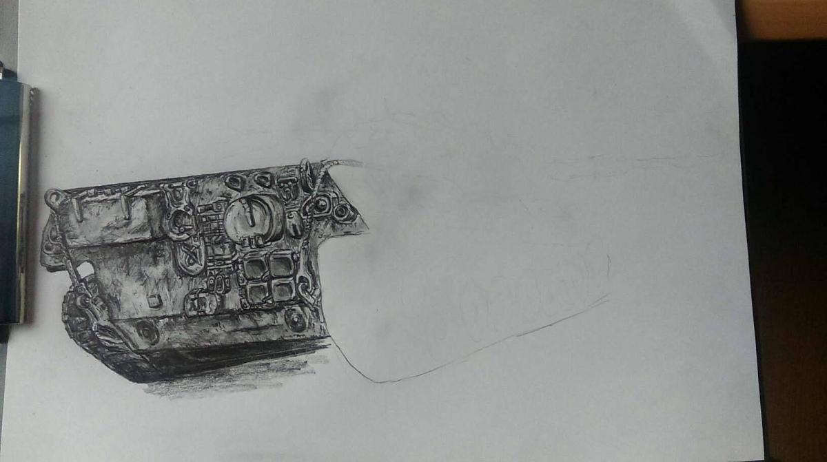 Нажмите на изображение для увеличения.  Название:leopard-tank-picture-pencil-2.jpg Просмотров:1437 Размер:81.5 Кб ID:112