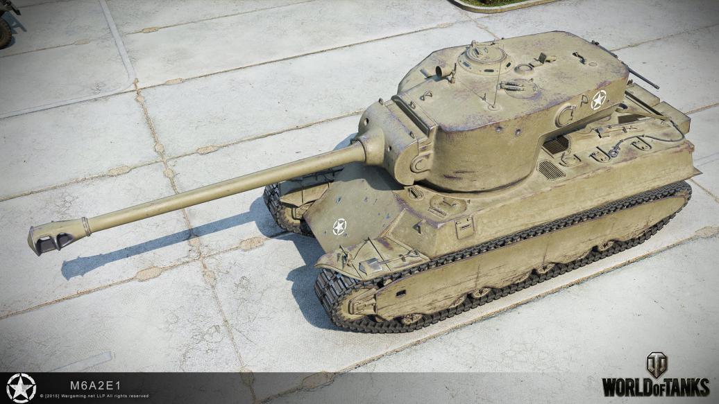 Гусь обновлен M6A2E1