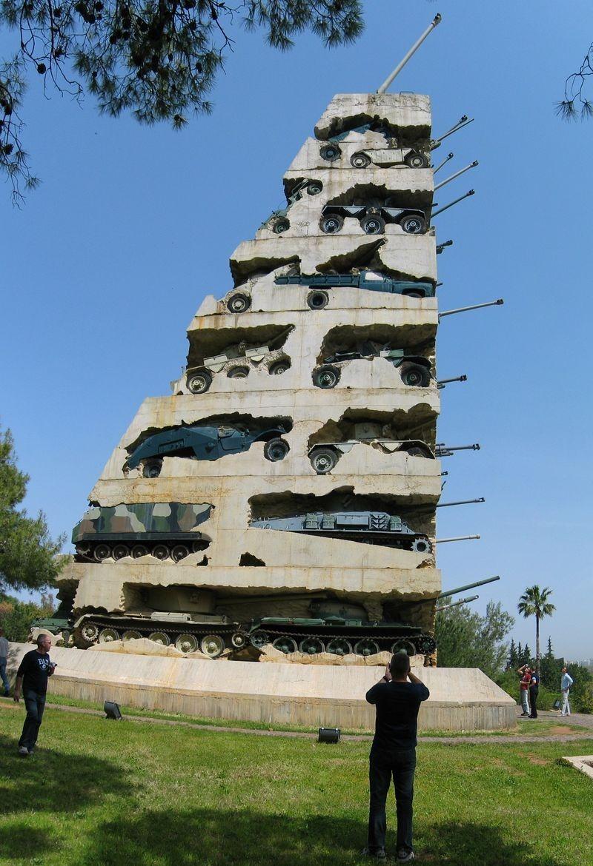 Название: Монумент из танков.jpg Просмотров: 505  Размер: 245.0 Кб