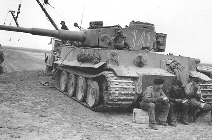 Название: tiger 1 tankers eating.jpg Просмотров: 750  Размер: 60.0 Кб